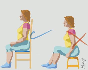 Postura correta ao sentar: dicas e orientações posturais em osteoartrite