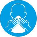 COBRIR a boca e nariz ao tossir ou espirrar é uma das atitudes simples para não transmitir ou pegar uma infecção respiratória